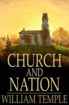 Church and Nation ebook by William Temple