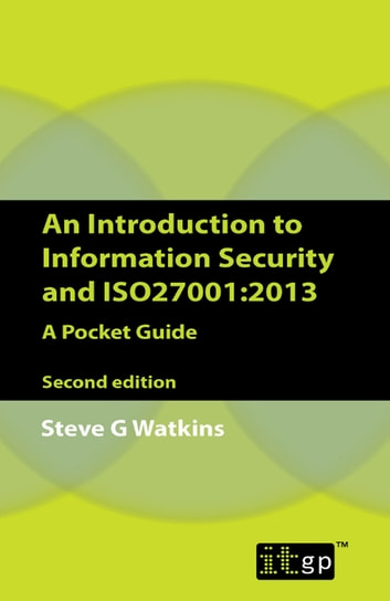 it255 introduction to information systems security An introduction to iso for information technology 7 to ensure security built into information systems 112 information security incident management.