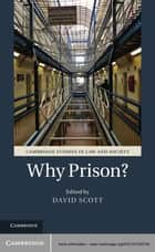 Why Prison? ebook by Dr David Scott