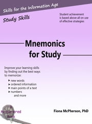 Mnemonics for Study ebook by Fiona McPherson