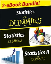 Statistics I & II For Dummies 2 eBook Bundle - Statistics For Dummies & Statistics II For Dummies ebook by Deborah J. Rumsey