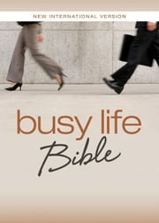 NIV, Busy Life Bible, eBook - 60-Second Thought Starters on Topics That Matter to You ebook by Christopher D. Hudson