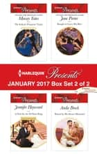 Harlequin Presents January 2017 - Box Set 2 of 2 - The Italian's Pregnant Virgin\A Deal for the Di Sione Ring\Bought to Carry His Heir\Bound by His Desert Diamond ebook by Maisey Yates, Jennifer Hayward, Jane Porter,...