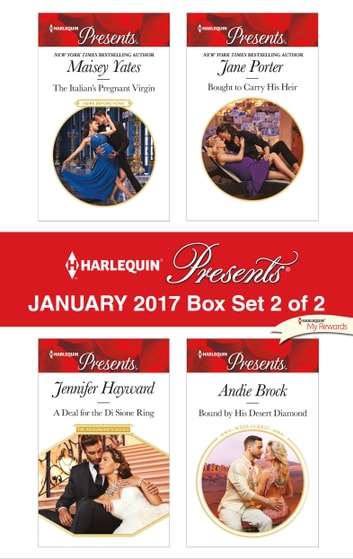 Harlequin Presents January 2017 - Box Set 2 of 2 - An Anthology 電子書籍 by Maisey Yates,Jennifer Hayward,Jane Porter,Andie Brock