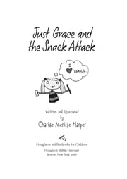 Just Grace and the Snack Attack ebook by Charise Mericle Harper