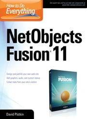 How to Do Everything NetObjects Fusion 11 ebook by David Plotkin