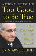 Too Good to Be True - The Rise and Fall of Bernie Madoff ebook by Erin Arvedlund