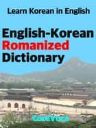 English-Korean Romanized Dictionary ebook by Taebum Kim
