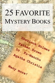 25 Favorite Mystery Books ebook by Kobo.Web.Store.Products.Fields.ContributorFieldViewModel
