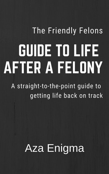 The Friendly Felon's Guide to Life After a Felony: Finding Second Chances After Conviction ebook by Aza Enigma