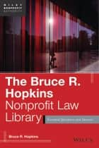 The Bruce R. Hopkins Nonprofit Law Library ebook by Bruce R. Hopkins
