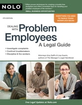 Dealing With Problem Employees: A Legal Guide ebook by Amy DelPo,Lisa Guerin