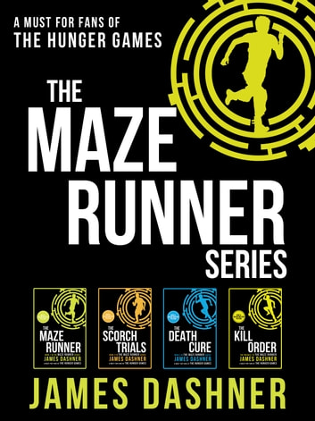 The Maze Runner series (books 1-4) ebook by J. Dasher