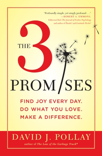 The 3 Promises - Find Joy Every Day. Do What You Love. Make A Difference. ebook by David J. Pollay