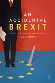 An Accidental Brexit - New EU and Transatlantic Economic Perspectives ebook by Paul J.J. Welfens