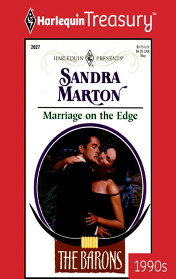 Marriage on the Edge ebook by Sandra Marton
