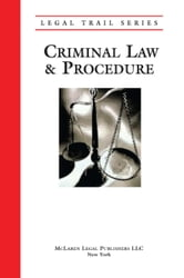 Legal Trail: Criminal Law & Procedure ebook by Errico, Peter