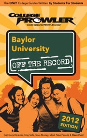 Baylor University 2012 ebook by Teni Odunsi