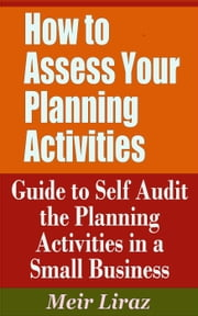 How to Assess Your Planning Activities: Guide to Self Audit the Planning Activities in a Small Business - Small Business Management ebook by Meir Liraz