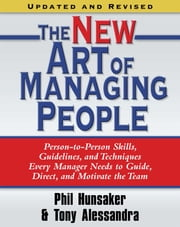 The New Art of Managing People ebook by Tony Alessandra