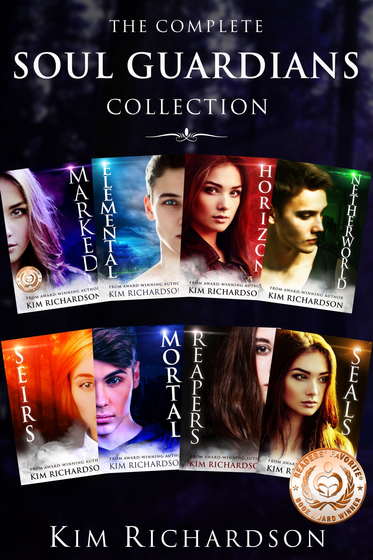 Theplete Soul Guardians Collection: Books 18 Ebook By Kim Richardson