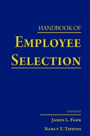 Handbook of Employee Selection ebook by James L. Farr,Nancy T. Tippins