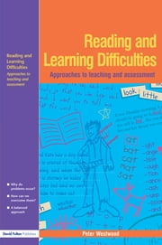 Reading and Learning Difficulties ebook by Peter Westwood