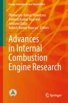 Advances in Internal Combustion Engine Research ebook by