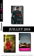 10 romans Black Rose + 1 gratuit (nº486 à 490 - Juillet 2018) ebook by Collectif