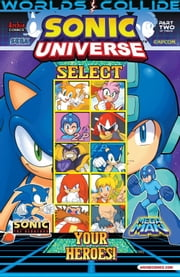 "Sonic Universe #51 ebook by Patrick ""SPAZ"" Spaziante, Ian Flynn, Jamal Peppers, Jim Amash, John Workman, Matt Herms"