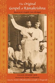 Original Gospel of Ramakrishna - Based in M's English Text, Abridged ebook by Joseph A. Fitzgerald,Alexander Lipski,Swami Vivekananda,Swami Abhedananda