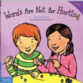 Words Are Not for Hurting (paperback) ebook by Verdick, Elizabeth