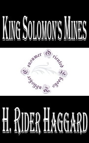 King Solomon's Mines ebook by H. Rider Haggard