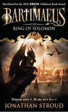 The Ring of Solomon eBook by Jonathan Stroud