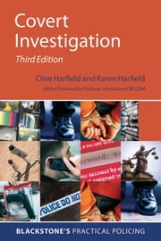 Covert Investigation ebook by Clive Harfield,Karen Harfield