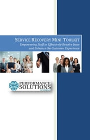 The Service Recovery Toolkit ebook by Theo Gilbert-Jamison