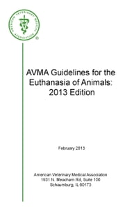 AVMA Guidelines for the Euthanasia of Animals 2013 Edition ebook by AVMA