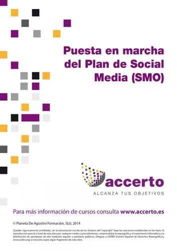 Puesta en marcha del Plan de Social Media (SMO) ebook by Accerto