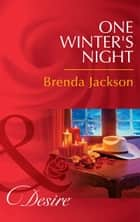 One Winter's Night 電子書 by Brenda Jackson