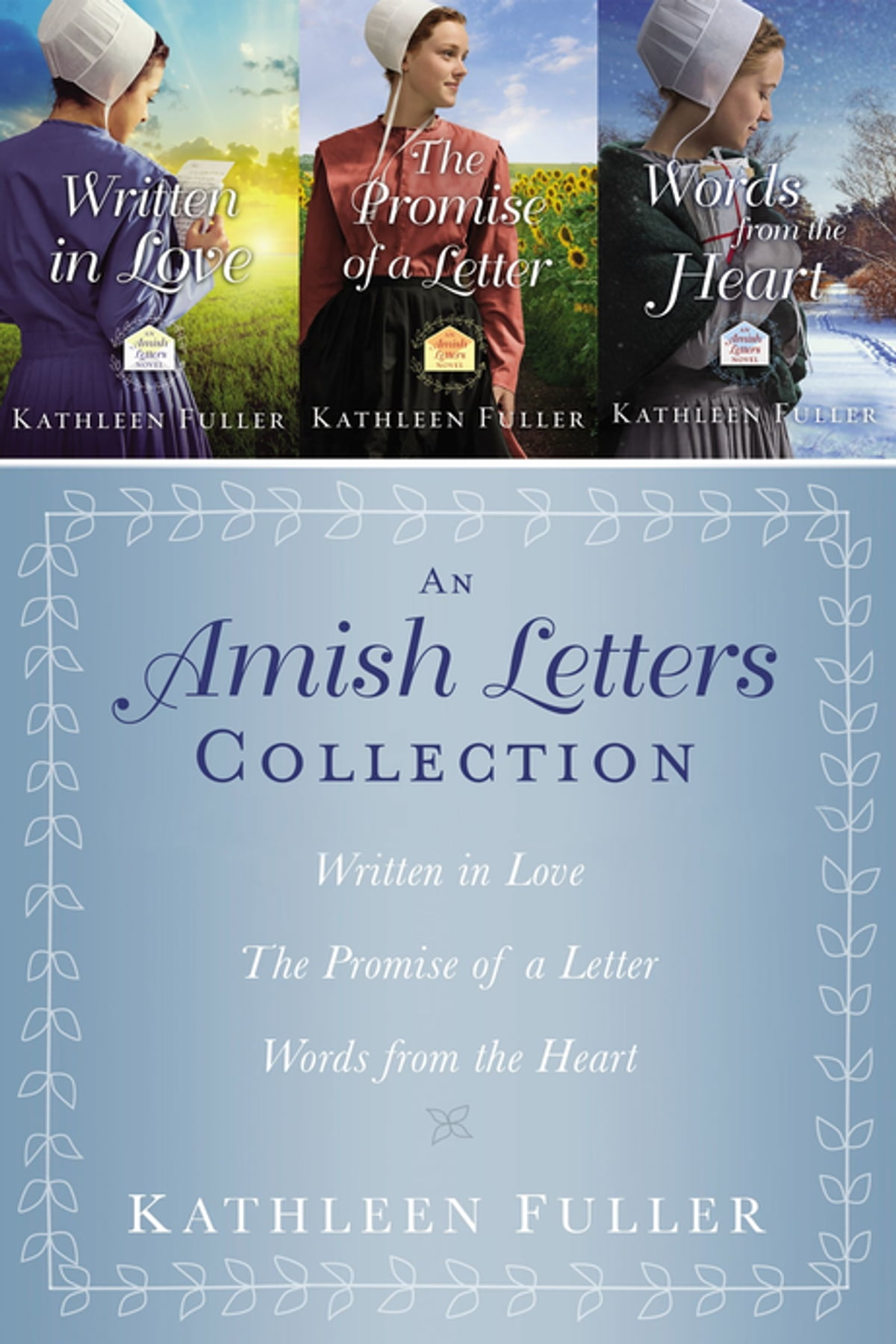 The Amish Letters Collection eBook by Kathleen Fuller - 9780718082581 |  Rakuten Kobo