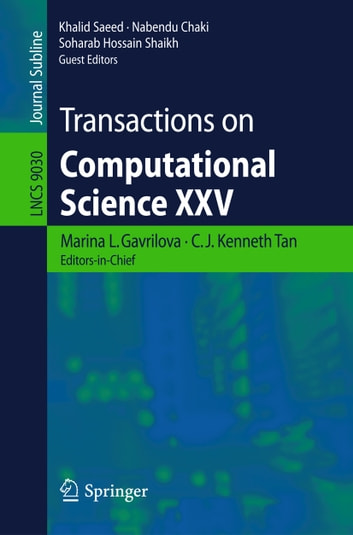 Transactions on Computational Science XXV ebook by