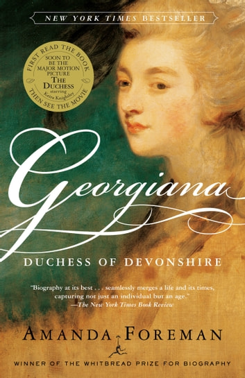 Georgiana - Duchess of Devonshire ebook by Amanda Foreman