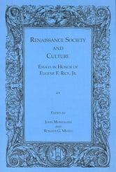 Index to Renaissance Society and Culture ebook by Monfasani, John