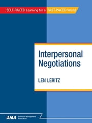 Interpersonal Negotiations: EBook Edition ebook by Kobo.Web.Store.Products.Fields.ContributorFieldViewModel