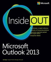 Microsoft Outlook 2013 Inside Out ebook by Jim Boyce
