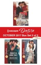 Harlequin Desire October 2017 - Box Set 2 of 2 - Little Secrets: Secretly Pregnant\Fiancé in Name Only\One Night Stand Bride ebook by Andrea Laurence, Maureen Child, Kat Cantrell