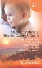 Maitland Maternity: Triplets, Quads and Quints: Triplet Secret Babies / Quadruplets on the Doorstep / Great Expectations / Delivered with a Kiss / And Babies Make Seven (Mills & Boon Spotlight) ebook by Judy Christenberry, Tina Leonard, Kasey Michaels,...