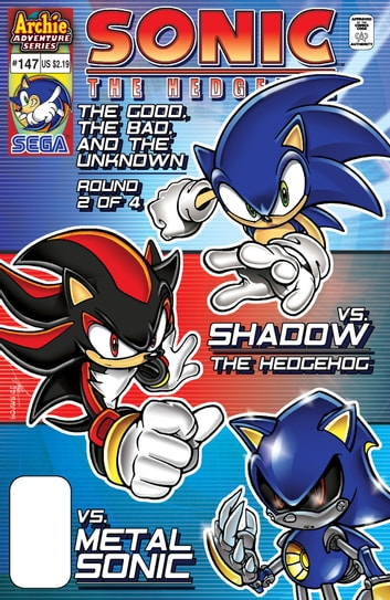 "Sonic the Hedgehog #147 ebook by Ken Penders,Mike Gallagher,Romy Chacon,Steven Butler,Dave Manak,Al Bigley,Jim Amash,Rich Koslowski,Patrick ""SPAZ"" Spaziante"