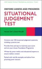 Situational Judgement Test ebook by Harveer Dev,David Metcalfe,Katharine Boursicot,David Sales