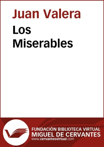 Los Miserables ebook by Juan Valera